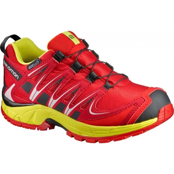 Salomon XA PRO 3D CSWP K - Dětská běžecká obuv 40df729b94