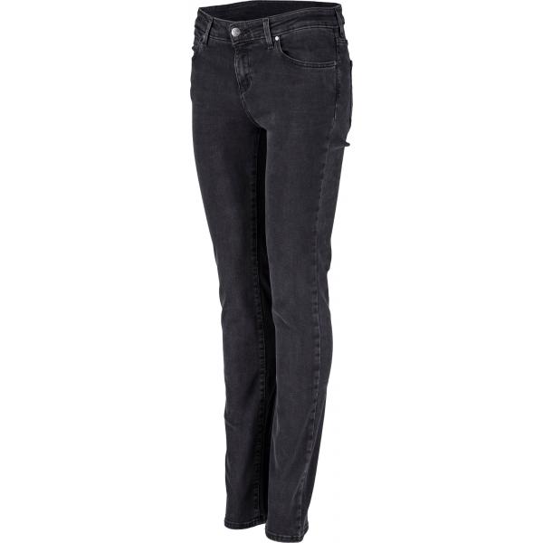 Wrangler SLIM BIKER BLACK - Dámské kalhoty