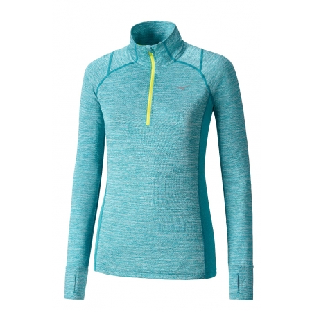 Dámské běžecké triko - Mizuno ALPHA LS HZ W - 1