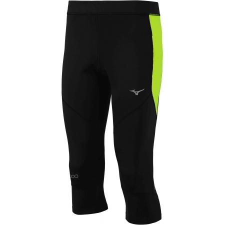 Pánské elastické 3/4 kalhoty - Mizuno BG3000 3/4 TIGHT - 1