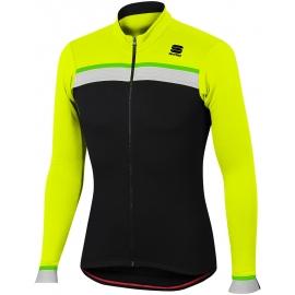Sportful PISTA THERMAL JER - Pánský cyklistický dres s dlouhým rukávem