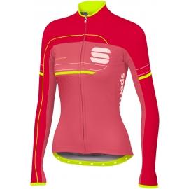 Sportful GRUPPETTO PRO W THERM - Dámský cyklistický dres s dlouhým rukávem