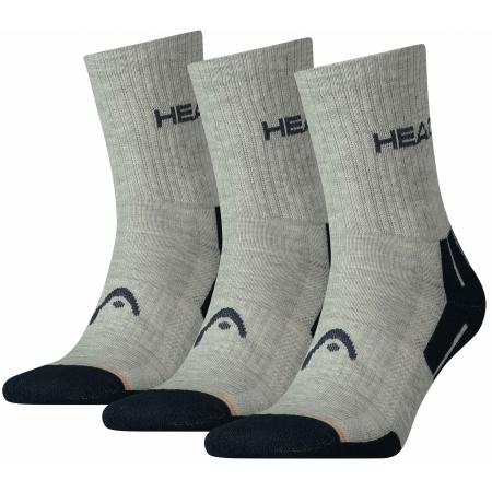 Ponožky - Head PERFORMANCE SHORT CREW 3P