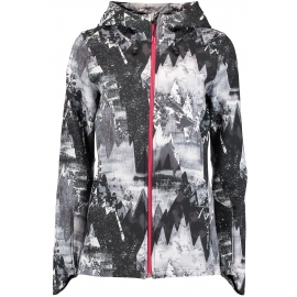 O'Neill PW MOUNTAIN PRINT SOFTSHELL - Dámská softshellová bunda