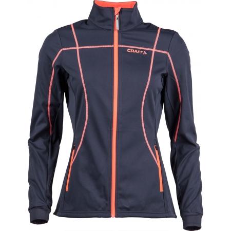 Dámská softshellová bunda na běžecké lyžování - Craft BUNDA DISCOVERY W - 1