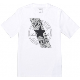 Converse CHUCKPATCH CONTRAST SLASH TEE - Pánské tričko