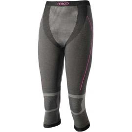 Mico 3/4 PANTS SILVER W - Dámské spodní kalhoty
