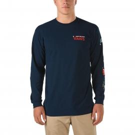 Vans PEANUTS HOLIDAY - Pánské tričko s dlouhým rukávem