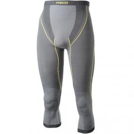 Mico 3/4 PANTS SILVER - Pánské spodní kalhoty