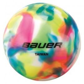 Bauer HOCKEY BALL MULTICOLORED - Míček