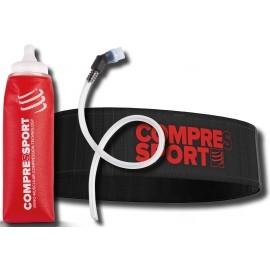 Compressport XMASPACK17 Belt + ErgoFlask600 - Sportovní bederní opasek + lahev