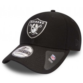 New Era 39THIRTY NFL BLACK OAKLAND RAIDERS - Pánská klubová kšiltovka