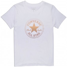 Converse CLEAR FOIL CHUCK PATCH CREW - Dámské tričko