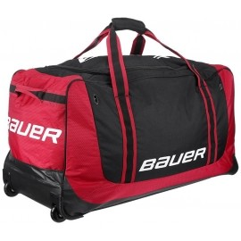 Bauer 13564-RED 650 WHEEL BAG M RED - Hokejové tašky