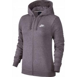Nike HOODIE FZ FLC W - Dámská mikina s kapucí