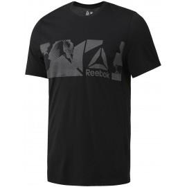 Reebok WORKOUT READY SUPREMIUM TEE - Pánské tričko