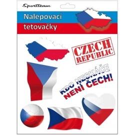 SPORT TEAM TETOVACÍ OBTISKY CR 2