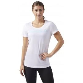 Reebok REEBOK LINEAR READ SCOOP NECK - Dámské sportovní tričko