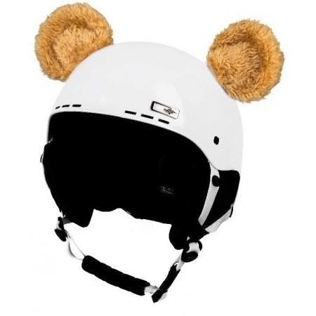 Uši na helmu - Crazy Ears CRAZY UŠI MEDVÍDEK