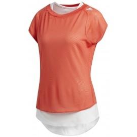 adidas TKO UV TEE W - Dámské běžecké triko