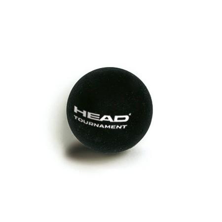 Squashový míč Tournament - Squashový míč  (jednotečkový) - Head Squashový míč Tournament