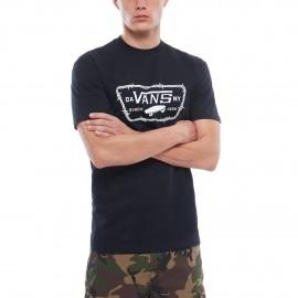 Vans MN FULL PATCH BARBED - Pánské tričko