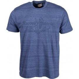 Russell Athletic S/S CREW TEE WITH DISTRESSED 'THE LEGEND' PRINT - Pánské tričko