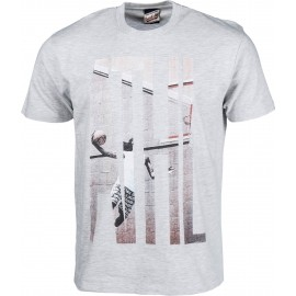 Russell Athletic S/S CREW TEE WITH 'ATHL.' PHOTO-EFFECT PRINT - Pánské tričko