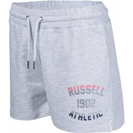 Russell Athletic SHORTS WITH MIXED DUAL TECHNIQUE PRINT