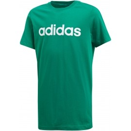 adidas ESSENTIALS LINEAR TEE - Juniorské tréninkové tričko