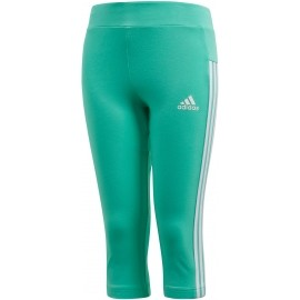 adidas ESSENTIALS LINEAR 3/4 TIGHT - Dívčí legíny
