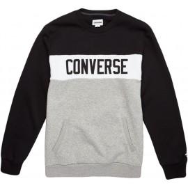 Converse COLORBLOCK CREW - Pánská mikina