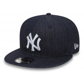 New Era 9FIFTY DENIM NEW YORK YANKEES - Pánská snapback kšiltovka