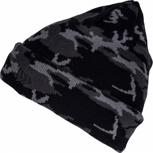 New Era CAMO CUFF - Pánská zimní čepice