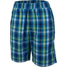 Lewro KNOX - Chlapecké šortky s kostkovaným vzorem