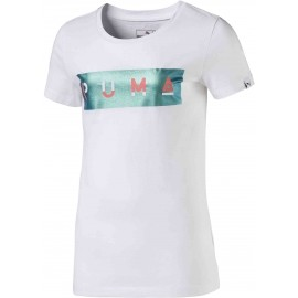 Puma STYLE GRAPHIC TEE 1 JR - Dívčí triko