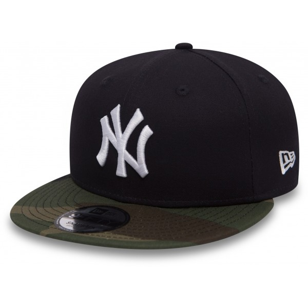 New Era 9FIFTY TEAM CAMO NEW YORK YANKEES - Klubová kšiltovka
