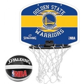 Spalding NBA MINIBOARD GOLDEN STATE WARRIORS - Basketbalový koš
