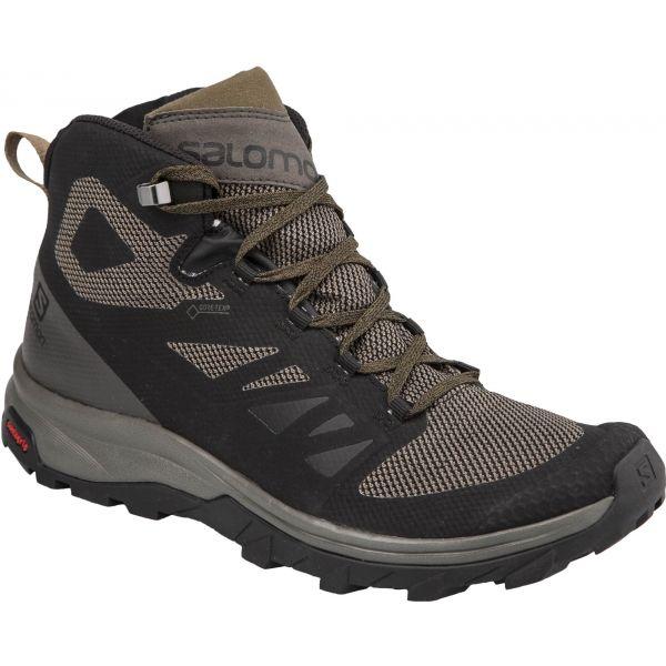 Salomon OUTLINE MID GTX - Pánská hikingová obuv
