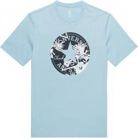 Converse PALM PRINT CHUCK PATCH TEE - Pánské tričko
