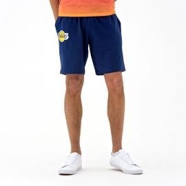 New Era NE LOS ANGELES LAKERS COASTAL HEAT SHORT - Pánské kraťasy