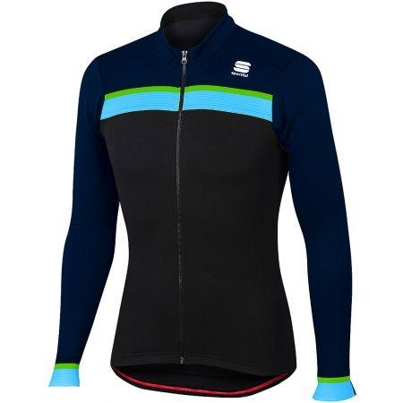 Pánský cyklistický dres s dlouhým rukávem - Sportful PISTA THERMAL JER - 2