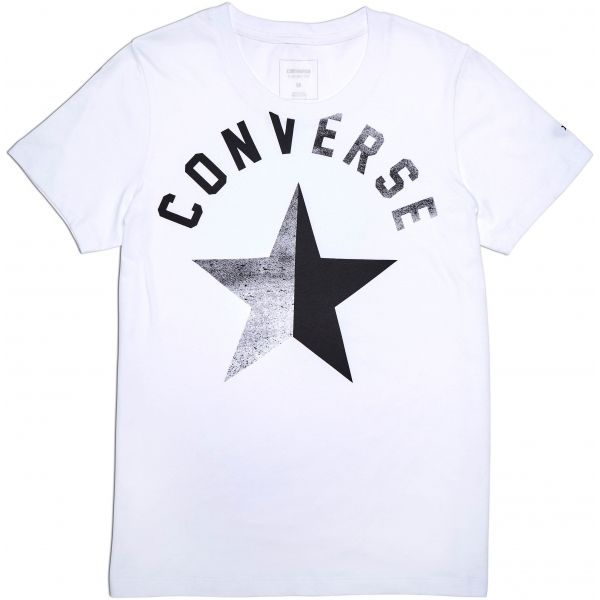 Converse SPLIT STAR CREW TEE - Dámské tričko ef84f032734