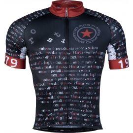 Rosti BOMBA DL ZIP - Pánský cyklistický dres
