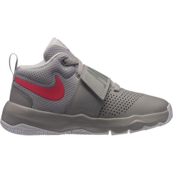 Nike TEAM HUSTLE D8 GS - Dětská basketbalová obuv