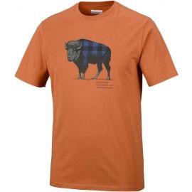Columbia CSC CHECK THE BUFFALO II SHORT SLEEVE - Pánské tričko