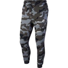 Nike M NSW CLUB CAMO JGGR FT - Pánské kalhoty