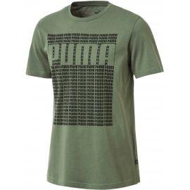 Puma WORDING TEE - Pánské tričko