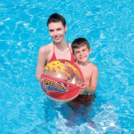 SPEEDYWAY FRIEND BEACH BALL - Nafukovací míč - Bestway SPEEDYWAY FRIEND BEACH BALL