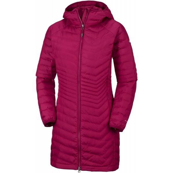 Columbia POWDER LITE MID JACKET - Dámský zimní kabát